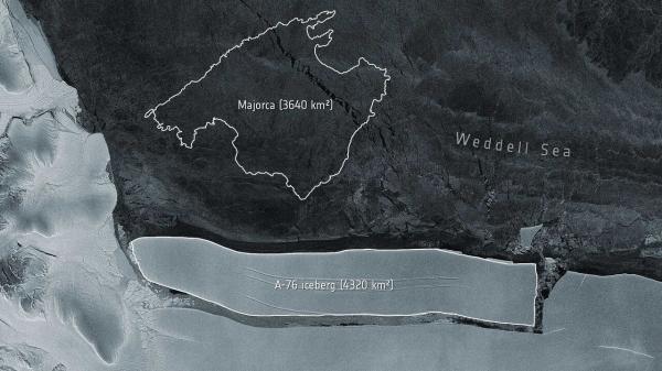یک اتفاق عظیم در قطب جنوب