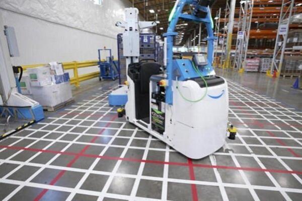 ورود روبات ها به انبارهای آمازون